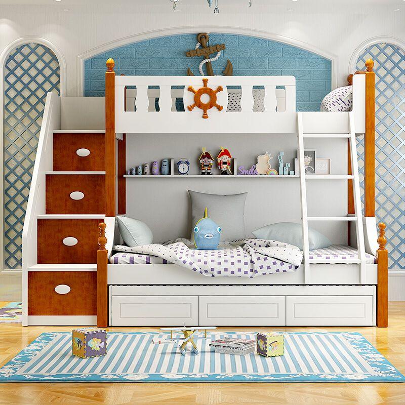 Giường tầng trẻ em kiểu dáng đa năng GTE076 2