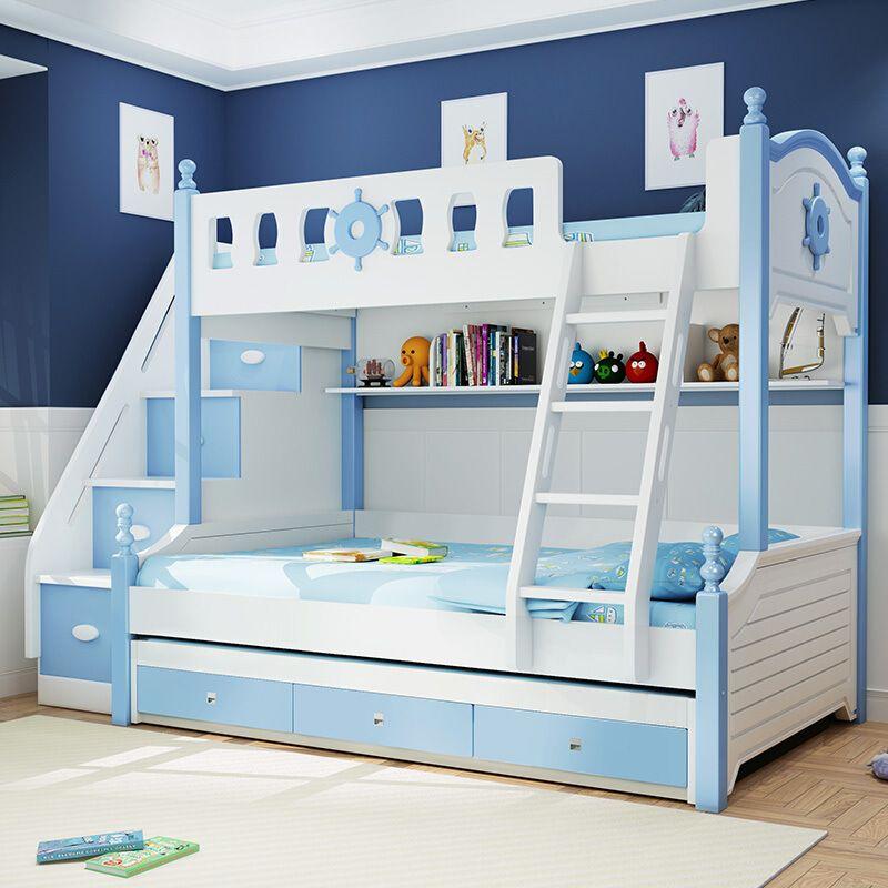Giường tầng trẻ em kiểu dáng đa năng GTE076 5