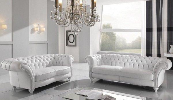 Mẫu sofa phòng khách Thiết kế sáng màu, sang trọng