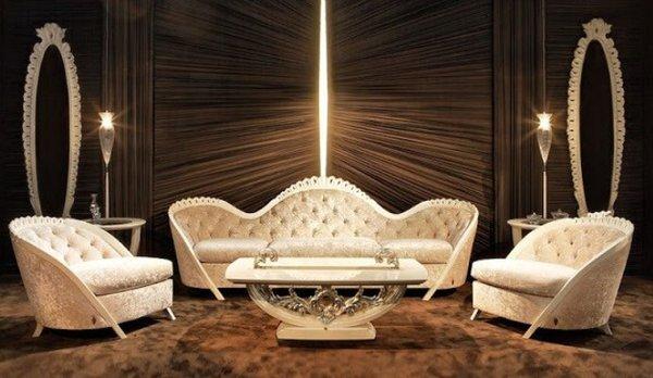 Thiết kế sofa phòng khách sang trọng