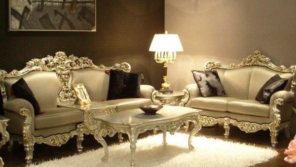 Sofa tân cổ điển nhập khẩu tại Hà Nội