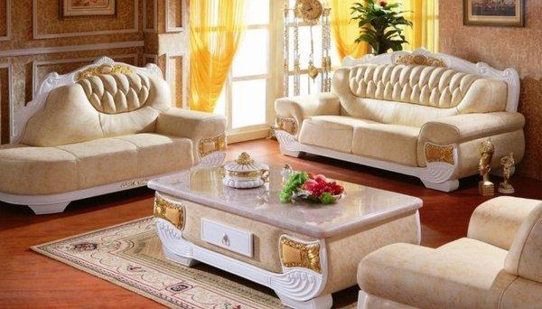 Sofa tân cổ điển đẹp Thiết kế lạ mắt và tone màu theo hướng trend nổi bật