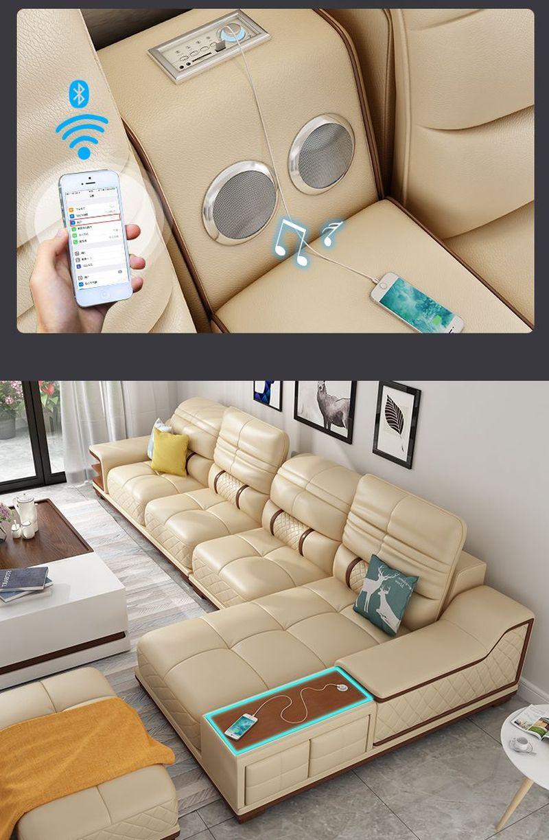 Sofa phòng khách SF005 có loa kết nối bluetooth