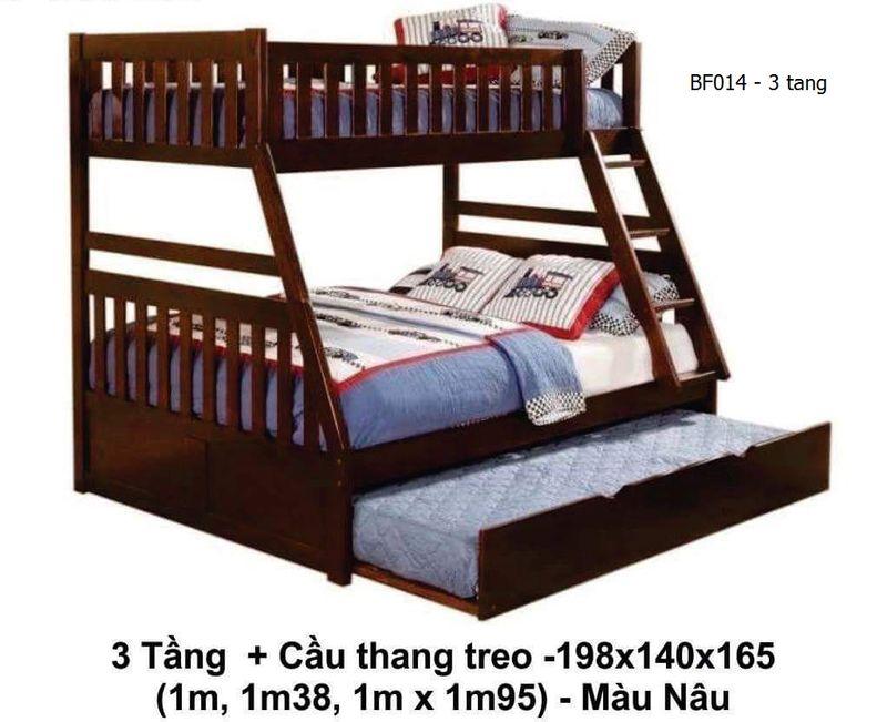 Giường 3 tầng cho bé, người lớn giá rẻ, có giường phụ