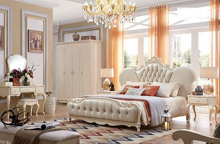 Đơn giản và quý phái, đầu giường như 1 chiếc vương miệng