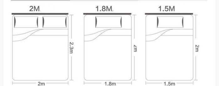 Kích thước thanh chắn giường cho bé