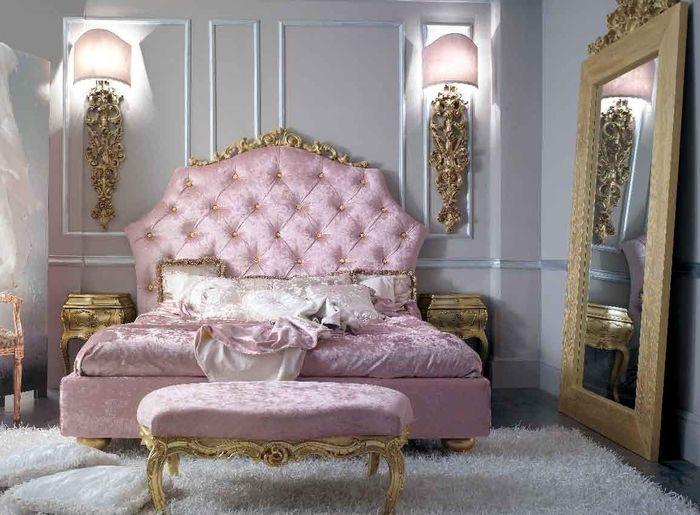 Giường cổ điển sang trọng Phong cách dành cho quý bà, nữ hoàng