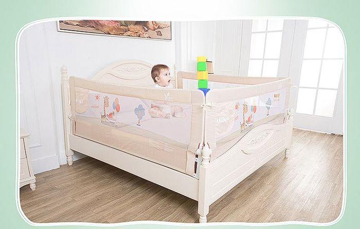 Quây giường ( thanh chắn giường cho bé ) 1