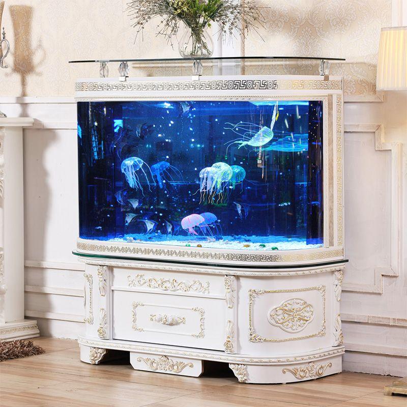 Kệ tủ bể cá cảnh có chân trụ phong cách tân cổ điển BC006
