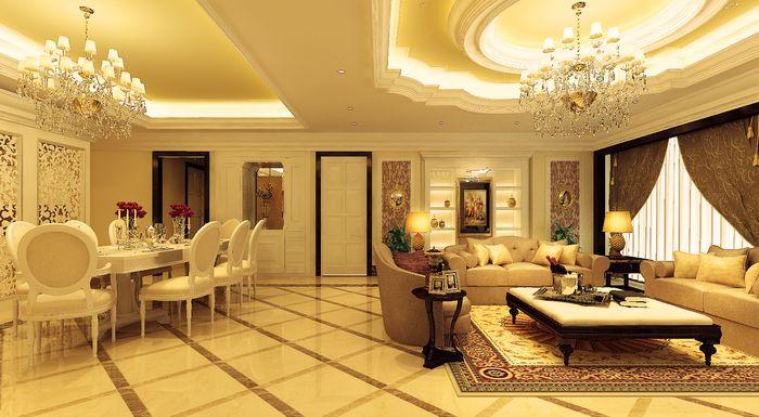Mẫu thiết kế nội thất tân cổ điển chung cư cao cấp