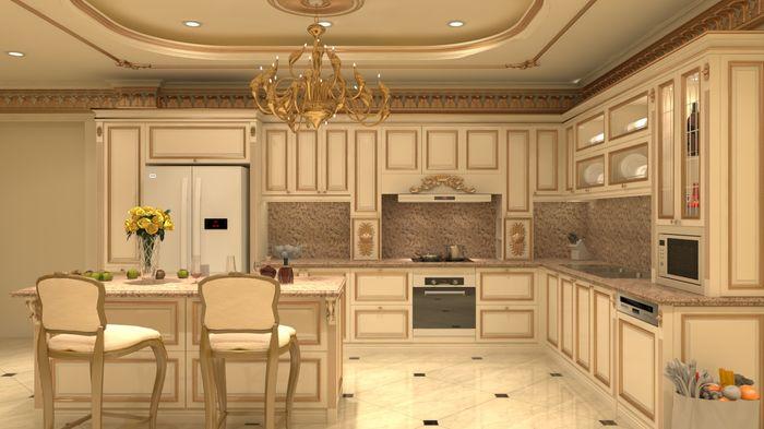 Dịch vụ thiết kế và thi công nội thất tân cổ điển Châu Âu
