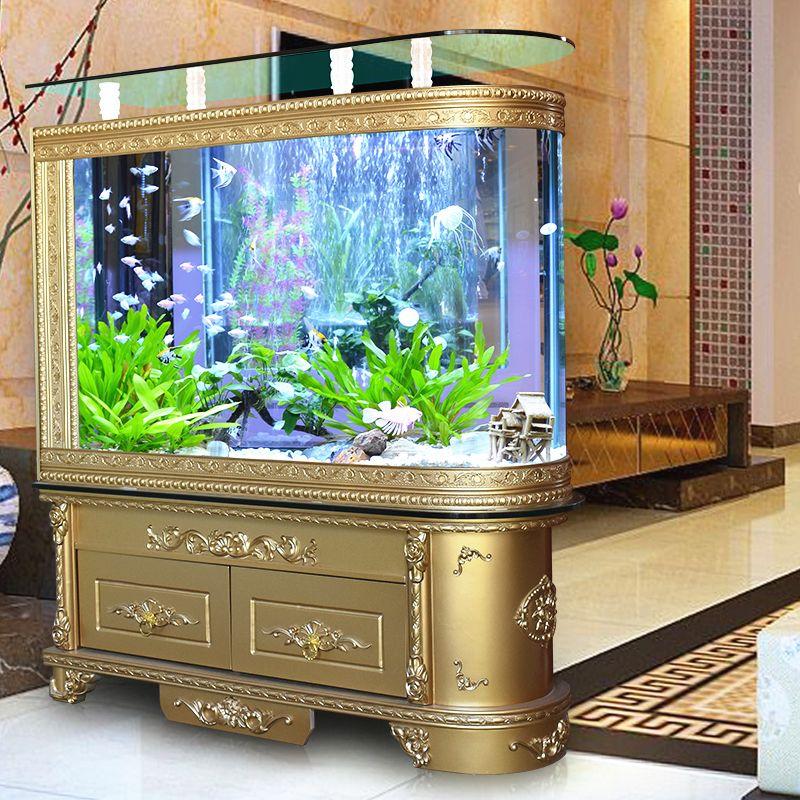 Tủ kệ bể cá thủy sinh kiểu dáng tân cổ điển BC008A