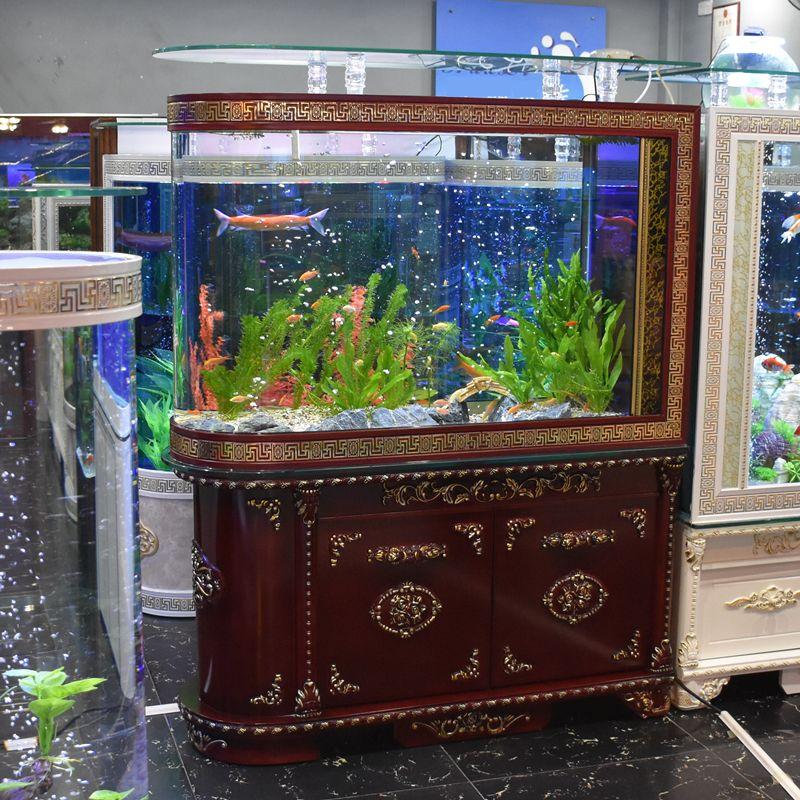 Tủ kệ bể cá thủy sinh kiểu dáng tân cổ điển BC008D