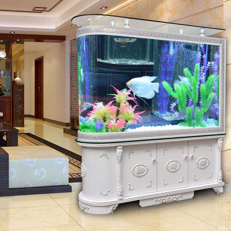 Tủ kệ bể cá thủy sinh kiểu dáng tân cổ điển BC008G
