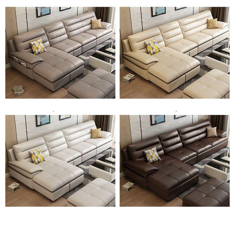 Các màu sắc Bộ ghế sofa phòng khách chữ L  SF021