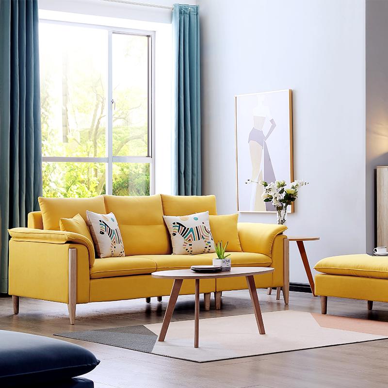 Bộ sofa châu âu bọc vải cao cấp SF028 - 1