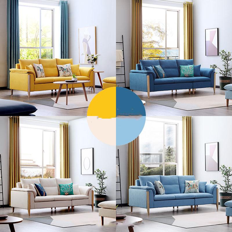 Bộ sofa châu âu bọc vải cao cấp SF028 - 2