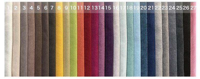 Màu sắc Bộ sofa châu âu bọc vải cao cấp SF028 - 2