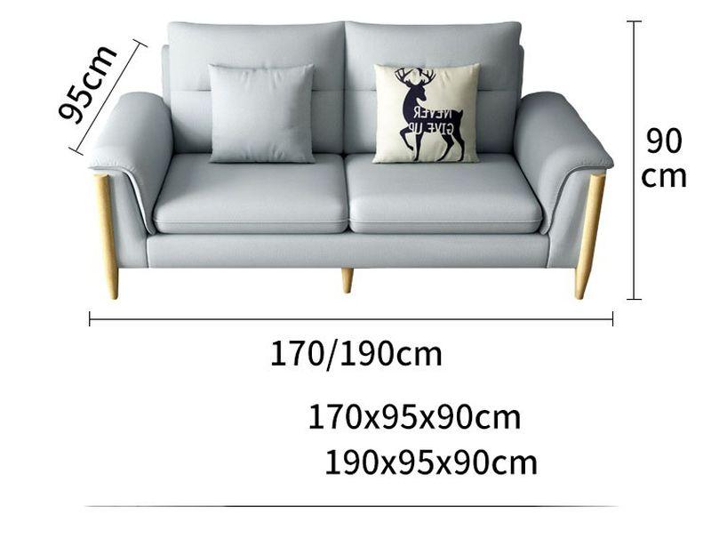 Kích thước 2 Bộ sofa châu âu bọc vải cao cấp SF028 - 2