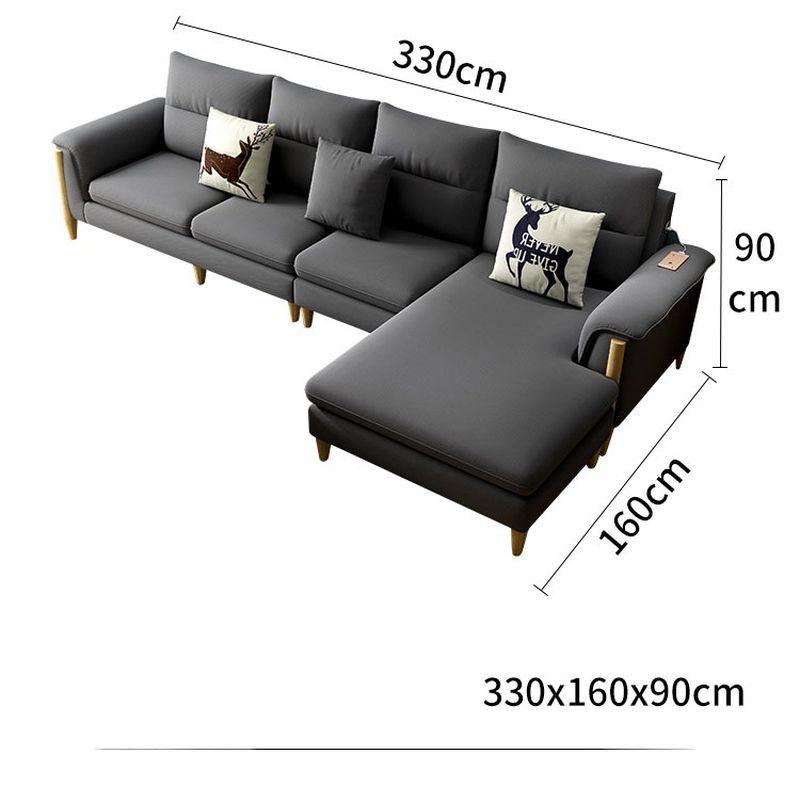 Kích thước 3 Bộ sofa châu âu bọc vải cao cấp SF028 - 2