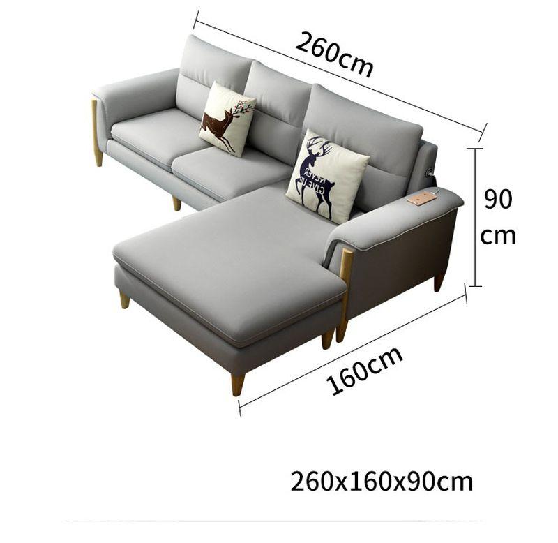 Kích thước 4 Bộ sofa châu âu bọc vải cao cấp SF028 - 2