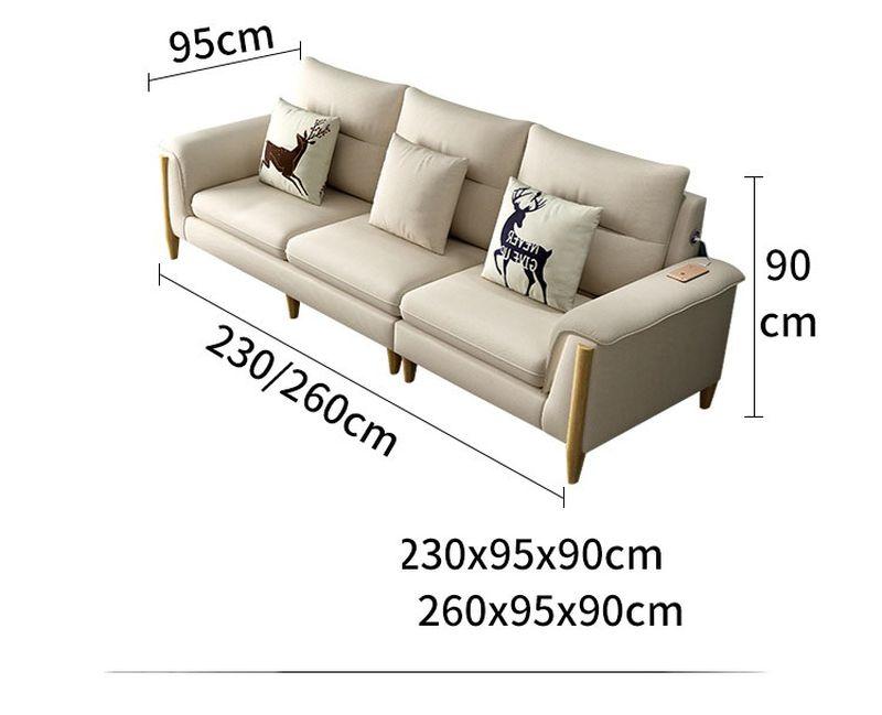 Kích thước 5 Bộ sofa châu âu bọc vải cao cấp SF028 - 2