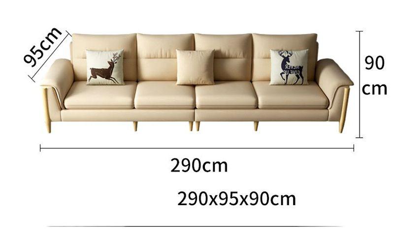 Kích thước 6 Bộ sofa châu âu bọc vải cao cấp SF028 - 2