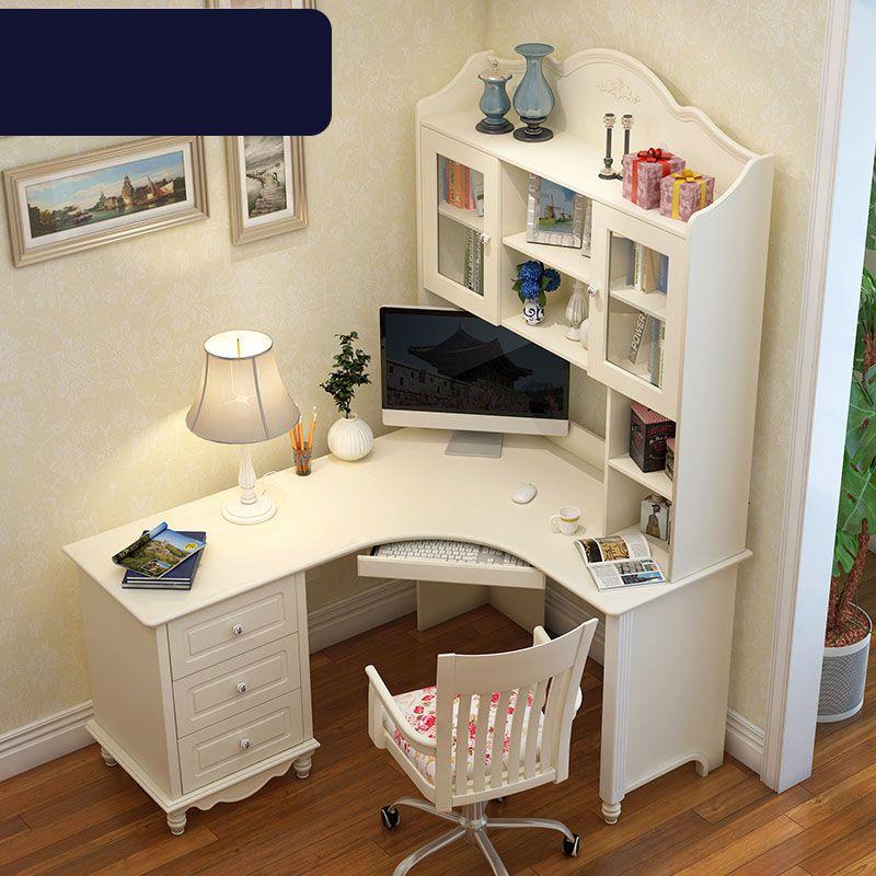 Bộ bàn ghế cho bé đẹp màu trắng BH202 4