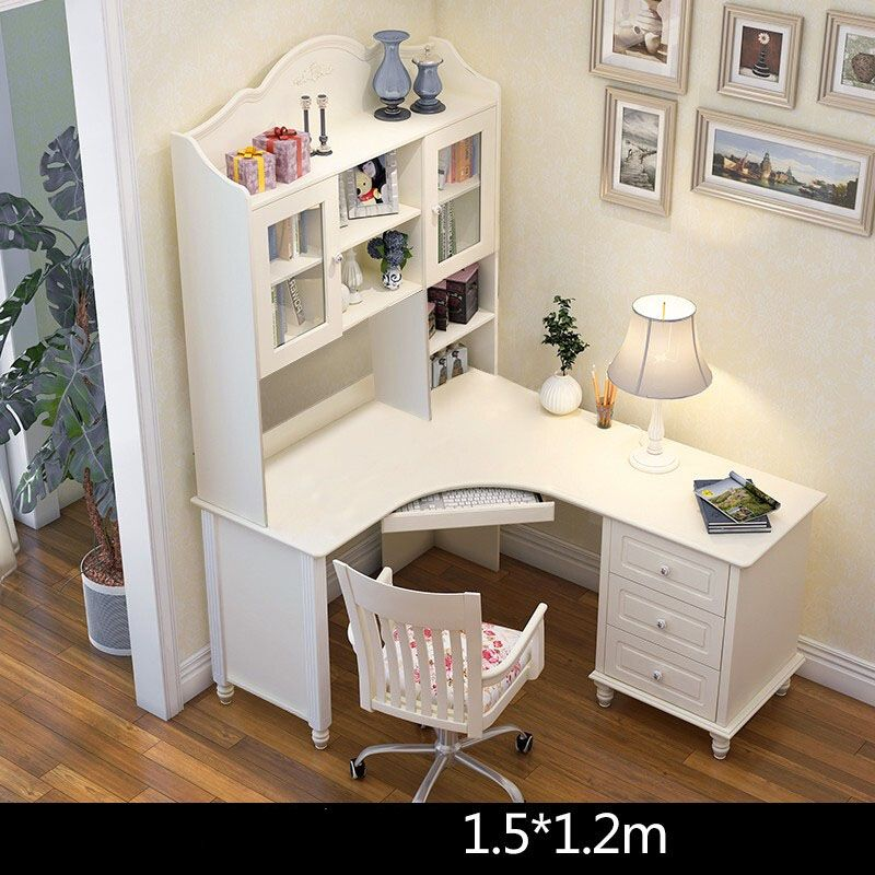 Bộ bàn ghế cho bé đẹp màu trắng BH202 3