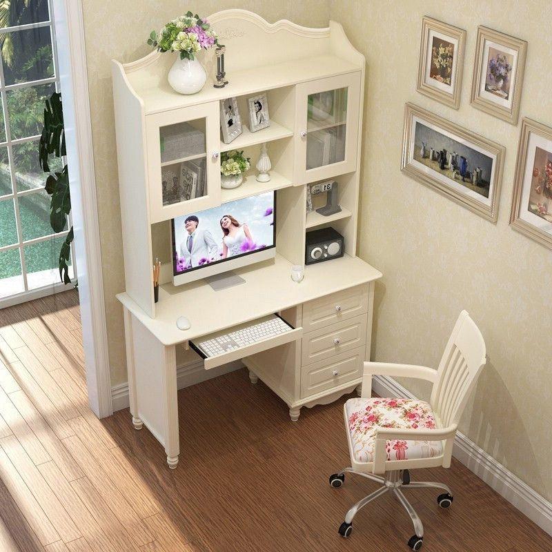 Bộ bàn ghế cho bé đẹp màu trắng BH202 1