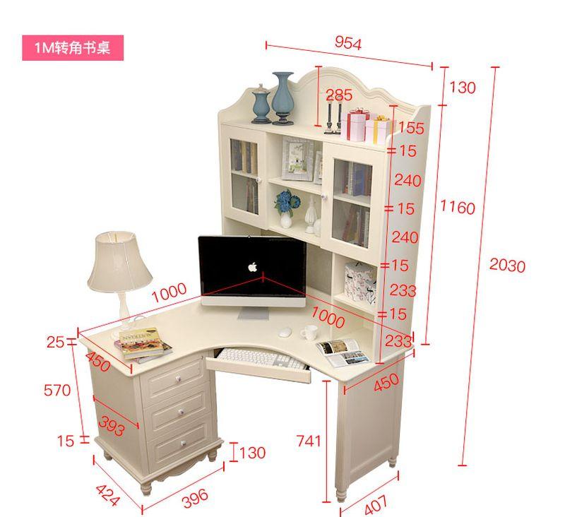 Kích thước Bộ bàn ghế cho bé đẹp màu trắng BH202 3
