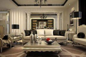 Mẫu sofa phòng khách tân cổ điển sang trọng châu âu