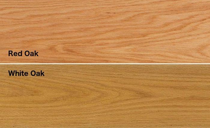 Phân biệt gỗ sồi trắng và gỗ sồi đỏ