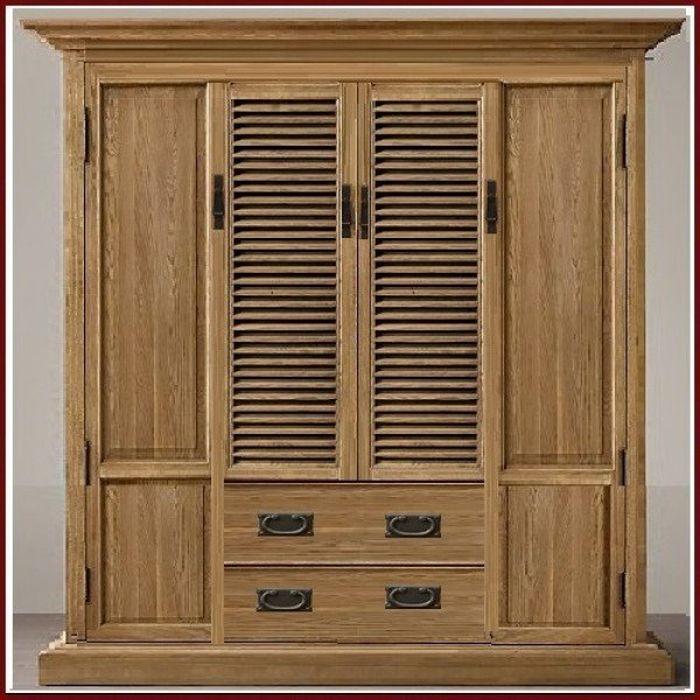Tủ quần áo cao cấp  làm bằng gỗ sồi