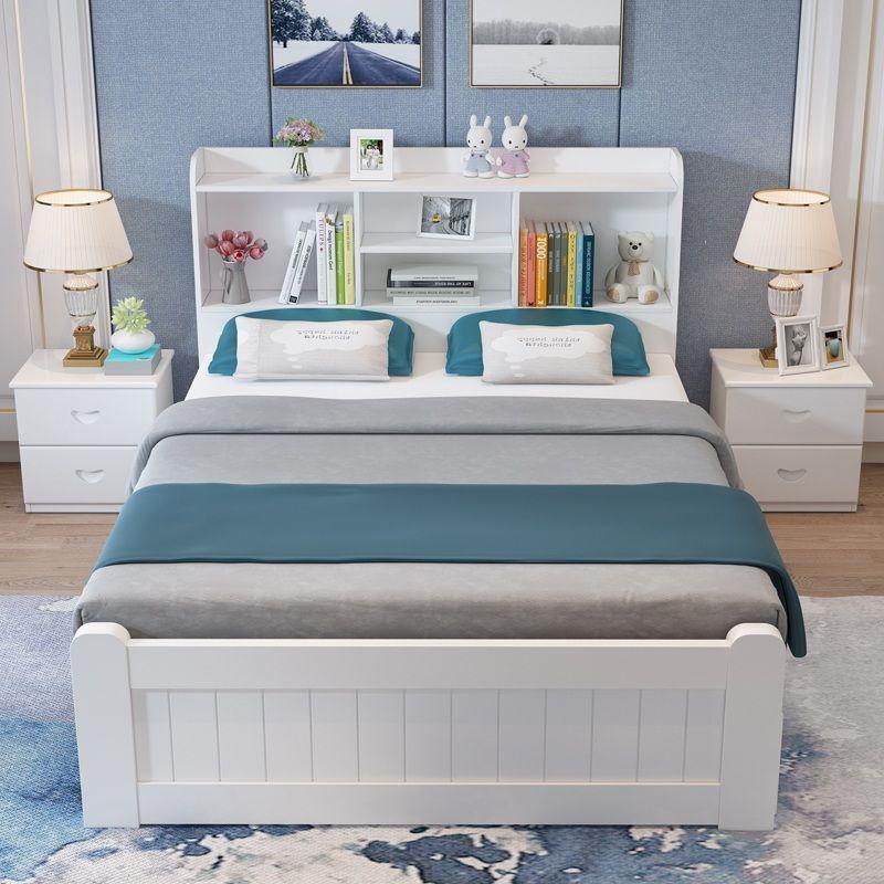 Giường cho bé phong cách Châu Âu tiện ích GTE127 màu trắng