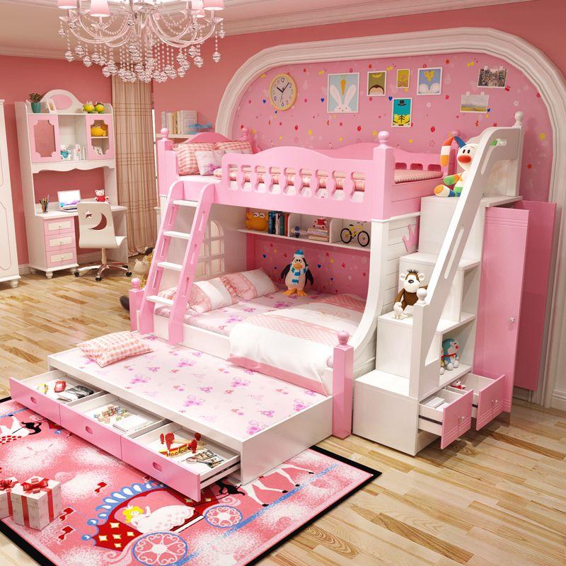 Giường tầng công chúa dành cho bé gái GTE131 4