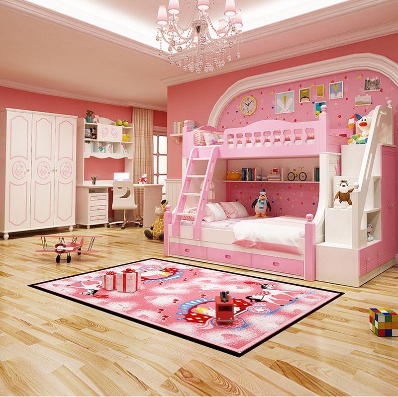 Giường tầng công chúa dành cho bé gái GTE131 1
