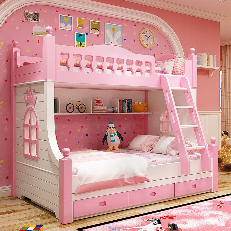 Giường tầng công chúa dành cho bé gái GTE131 2