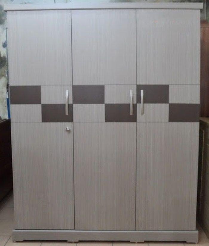 Mẫu tủ quần áo bằng gỗ giá rẻ 1 triệu, 2 triệu, 3 triệu dành cho sinh viên 3 cánh