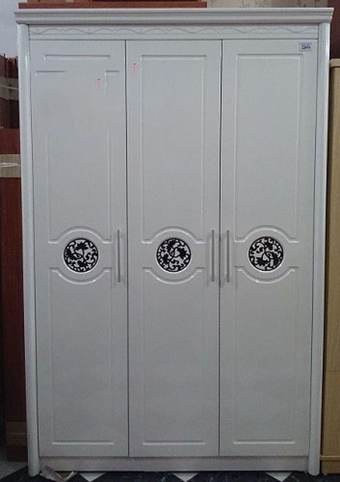 Mẫu tủ quần áo bằng gỗ giá rẻ 1 triệu, 2 triệu, 3 triệu dành cho sinh viên 3 cánh tân cổ điển