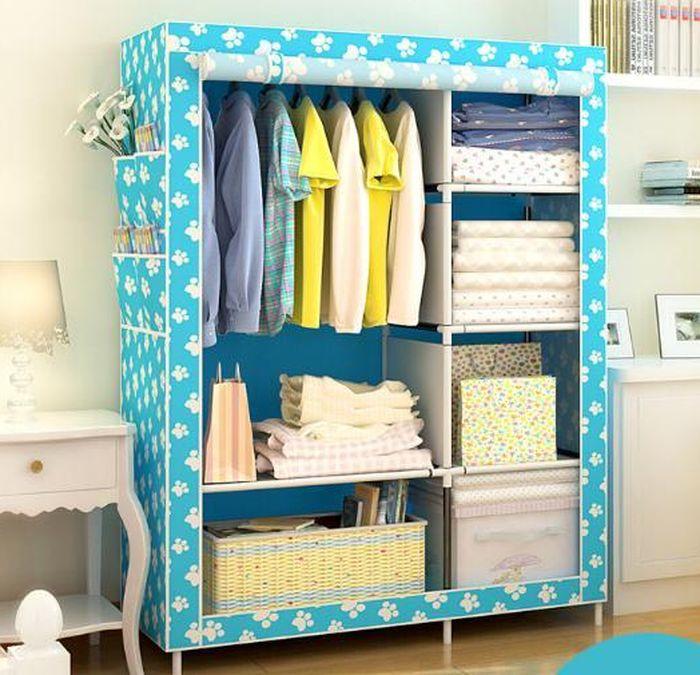 Tủ quần áo bằng vải giá rẻ dành cho sinh viên