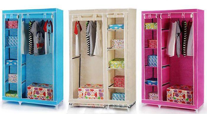 Tủ vải đẹp giá rẻ dành cho sinh viên