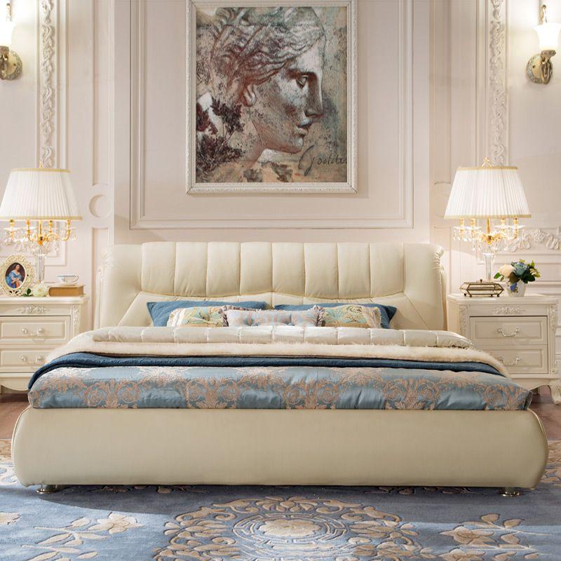 Giường ngủ bọc da hiện đại cao cấp sang trọng GN020 2