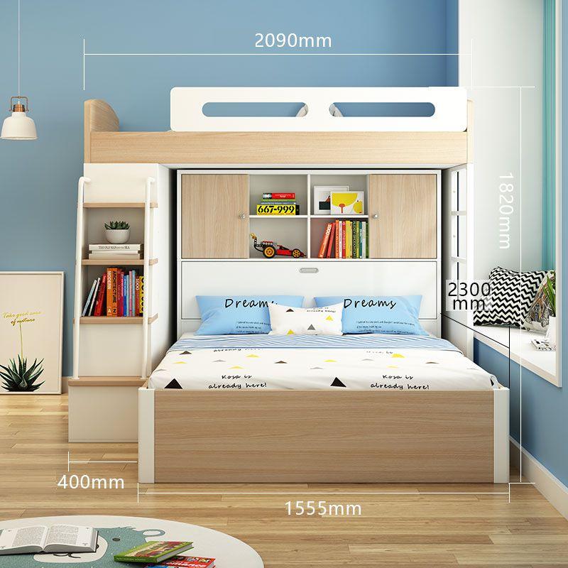 Giường tầng đa năng thông minh tiện ích GTE134 2