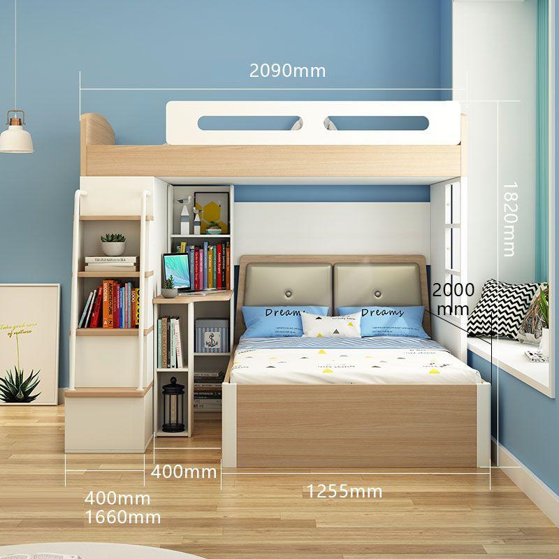 Giường tầng đa năng thông minh tiện ích GTE134 4