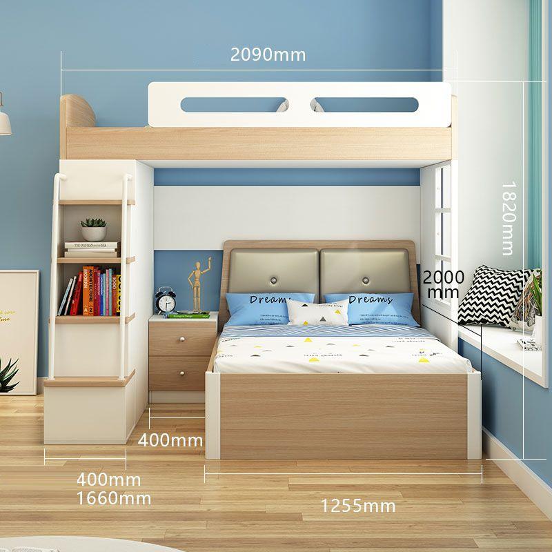 Giường tầng đa năng thông minh tiện ích GTE134 5
