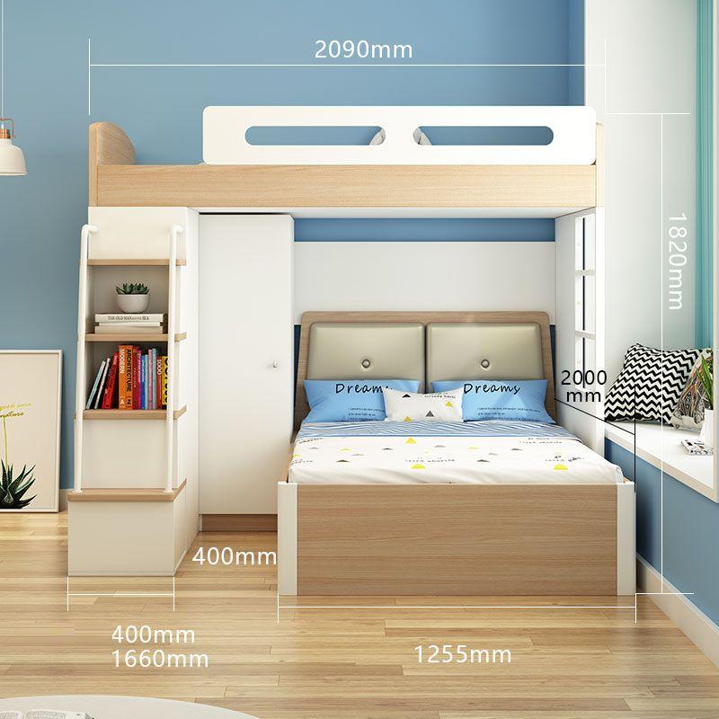 Giường tầng đa năng thông minh tiện ích GTE134 6