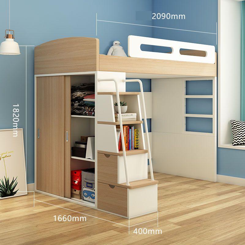 Giường tầng đa năng thông minh tiện ích GTE134 7