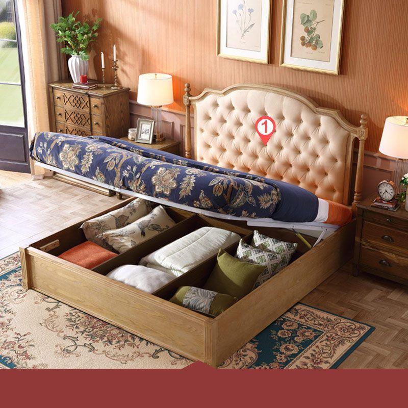 Giường ngủ hiện đại nhập khẩu GN021 kiểu A
