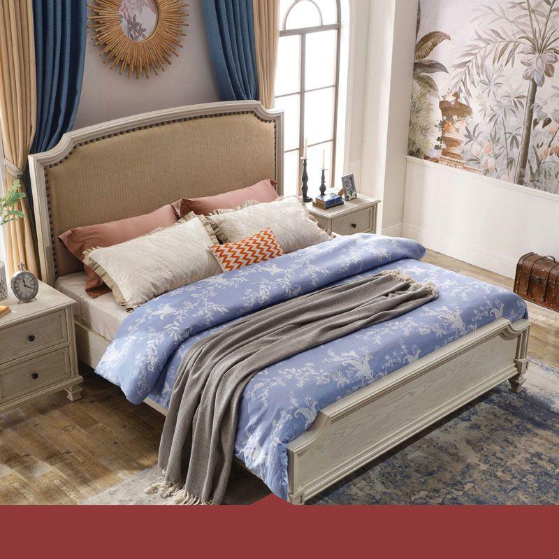 Giường ngủ hiện đại nhập khẩu GN021 kiểu B